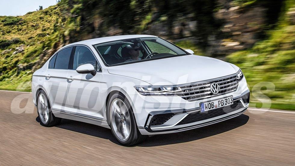 Volkswagen Passat 2019: primeros datos y fotos de la nueva berlina