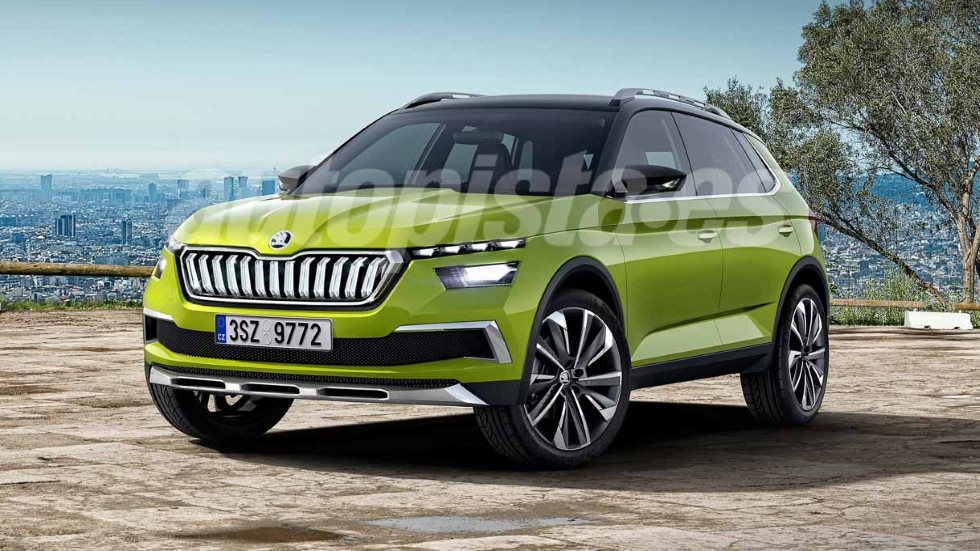 Skoda Kosmiq: así será el SUV basado en el Seat Arona que llega en 2019