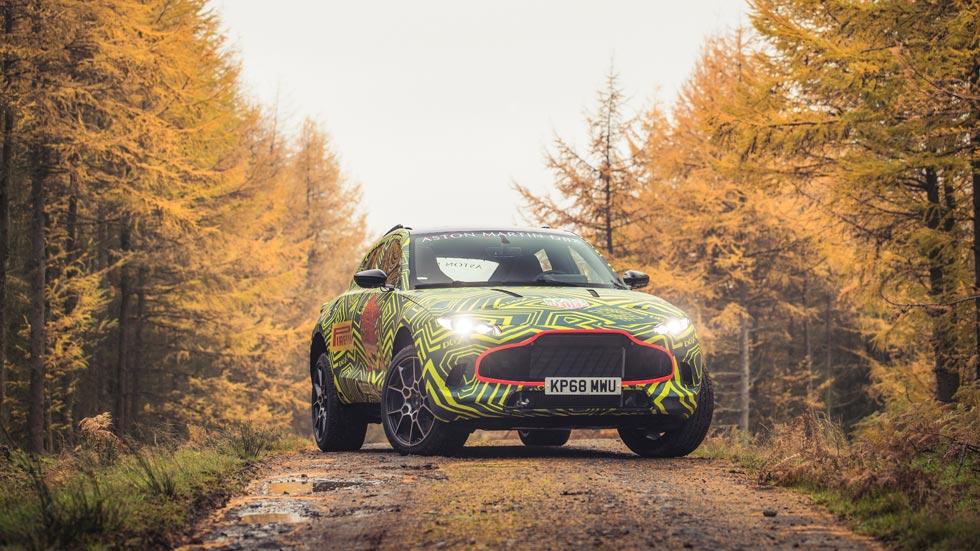 Aston Martin DBX: así es el primer SUV de la marca, en fotos y vídeo