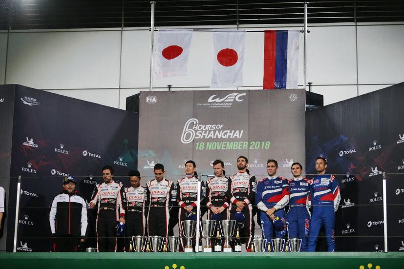 Toyota quita el triunfo al coche de Alonso en las 6 Horas de Shanghái