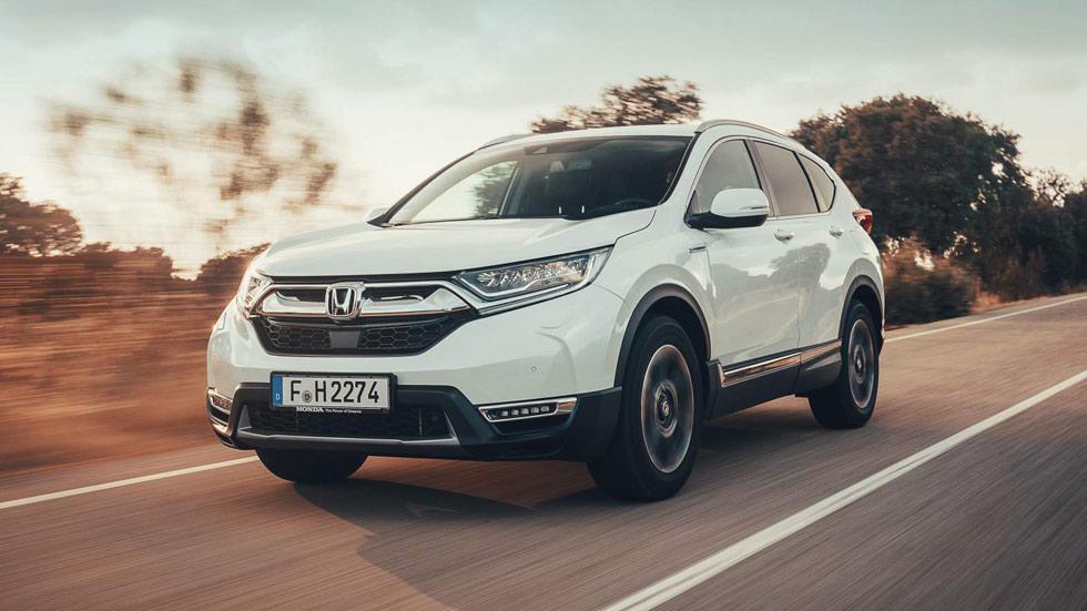Honda CR-V Hybrid 2019: todas las fotos del nuevo SUV