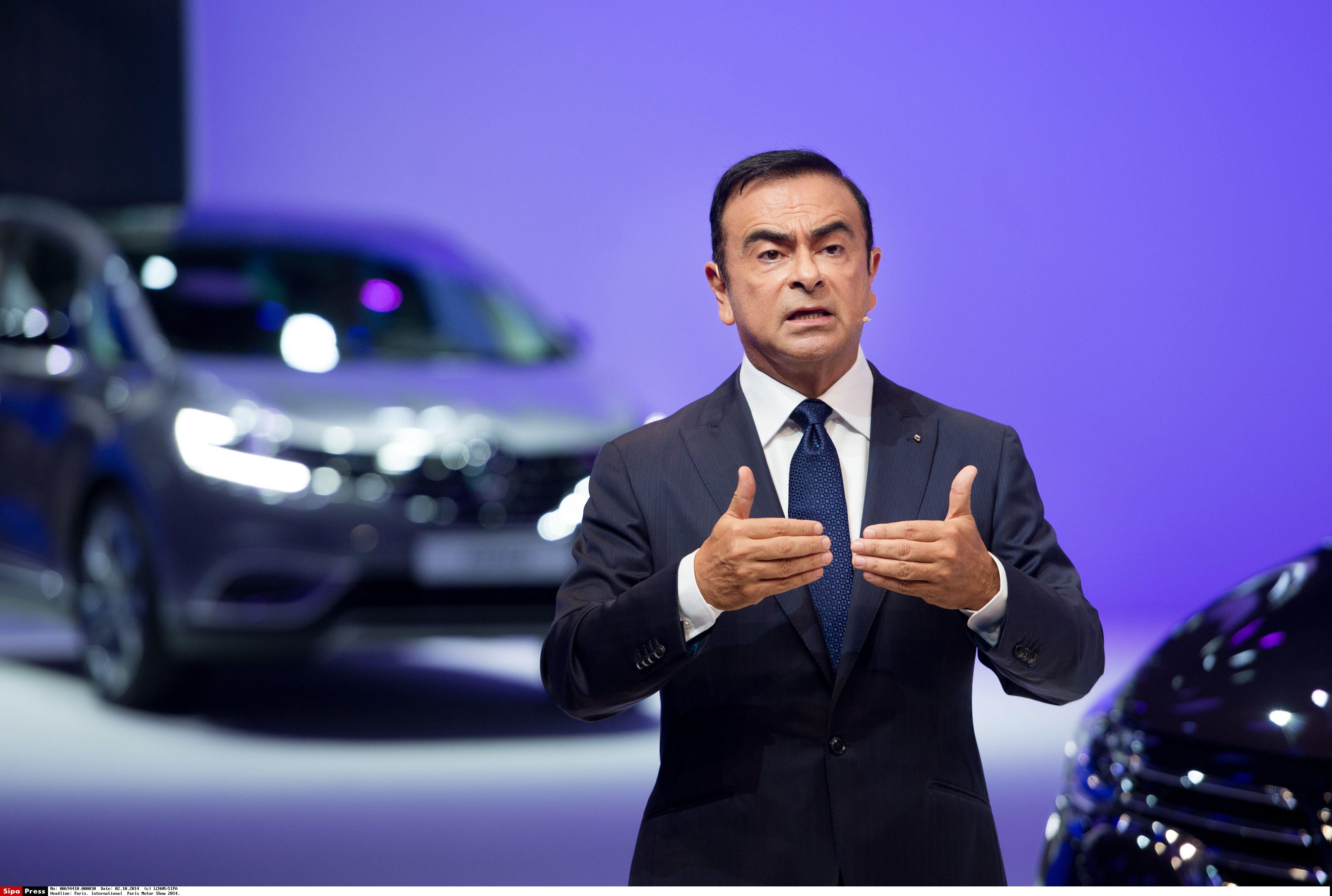 Carlos Ghosn, CEO de Renault-Nissan, detenido en Japón