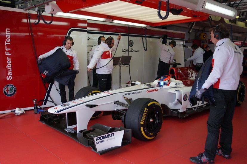 Tatiana Calderón concluye con éxito los test con el Sauber en Fiorano