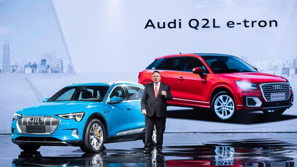 Audi Q2 L e-tron: así es el nuevo SUV eléctrico