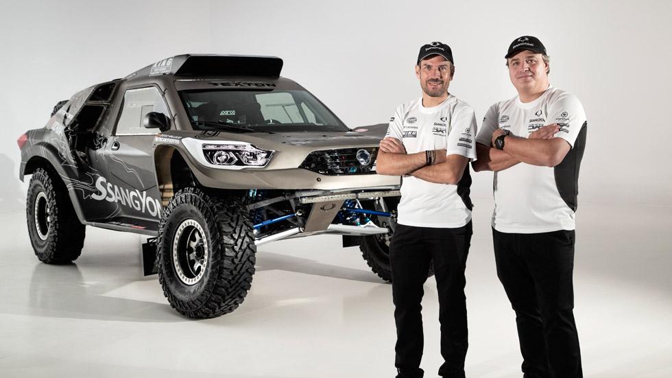 SsangYong Rexton DKR: el nuevo coche de Óscar Fuertes para el Dakar 2019