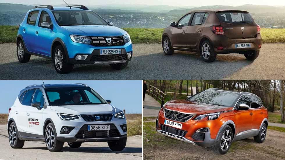 Los 15 coches que realmente más compran los conductores en España