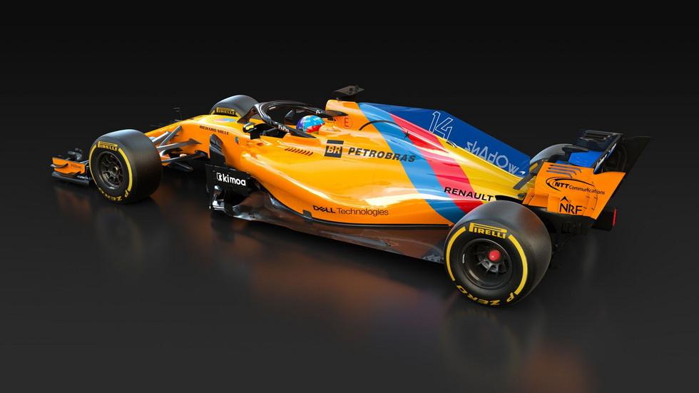 GP de Abu Dabi: nueva decoración del McLaren en honor a Fernando Alonso