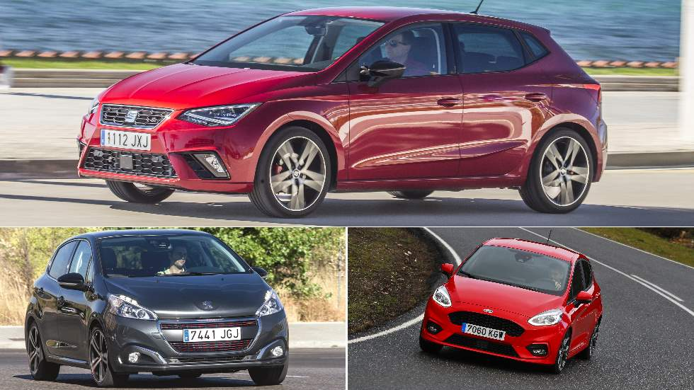 ¿Diesel o gasolina? Lo analizamos en Ford Fiesta, Peugeot 208 y Seat Ibiza