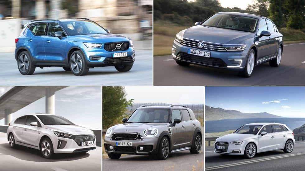 Todos los coches híbridos enchufables o plug in del mercado: guía de compra