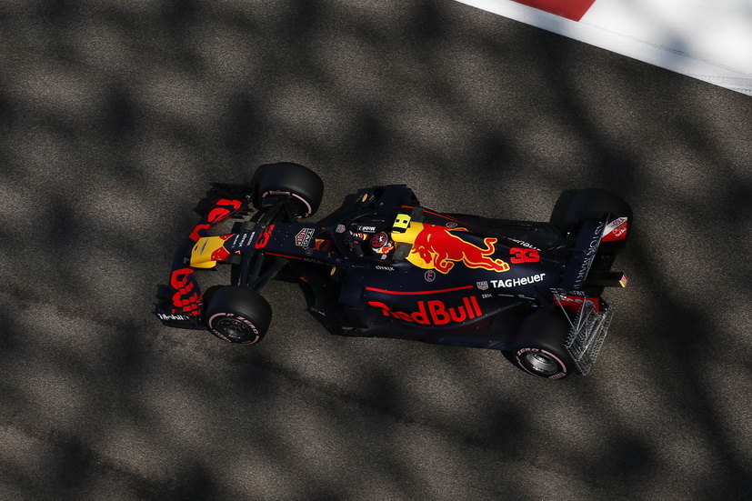 GP de Abu Dabi (FP1): los Red Bull dominaron la primera sesión