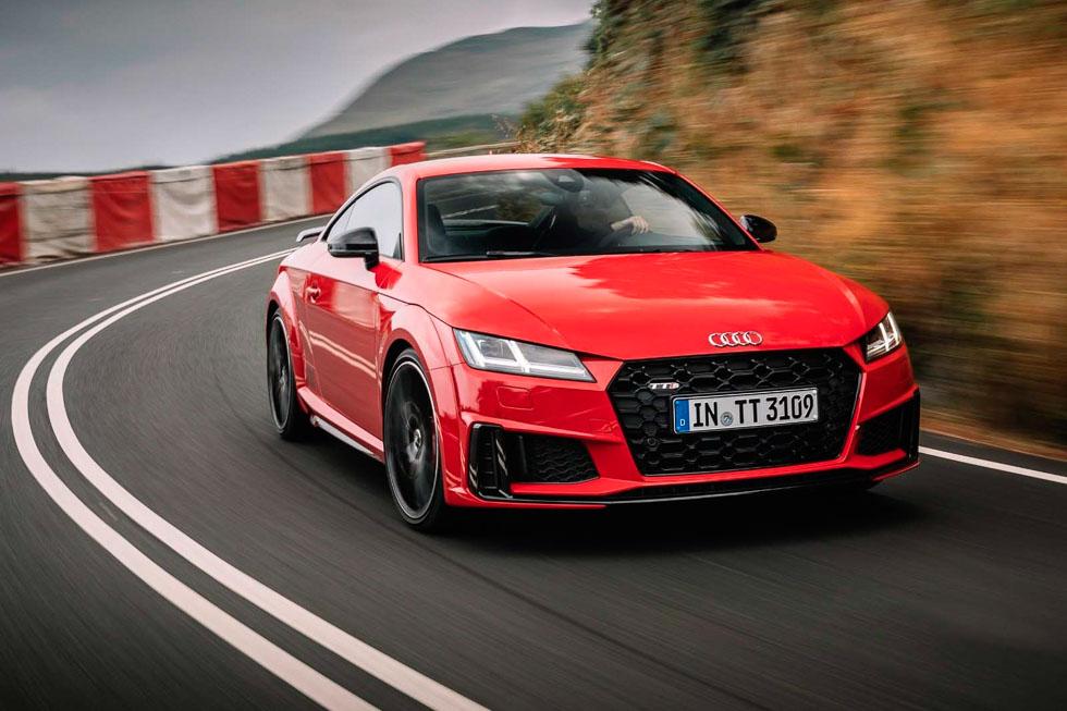 Audi TTS Coupé: edición limitada para celebrar los 20 años del Audi TT