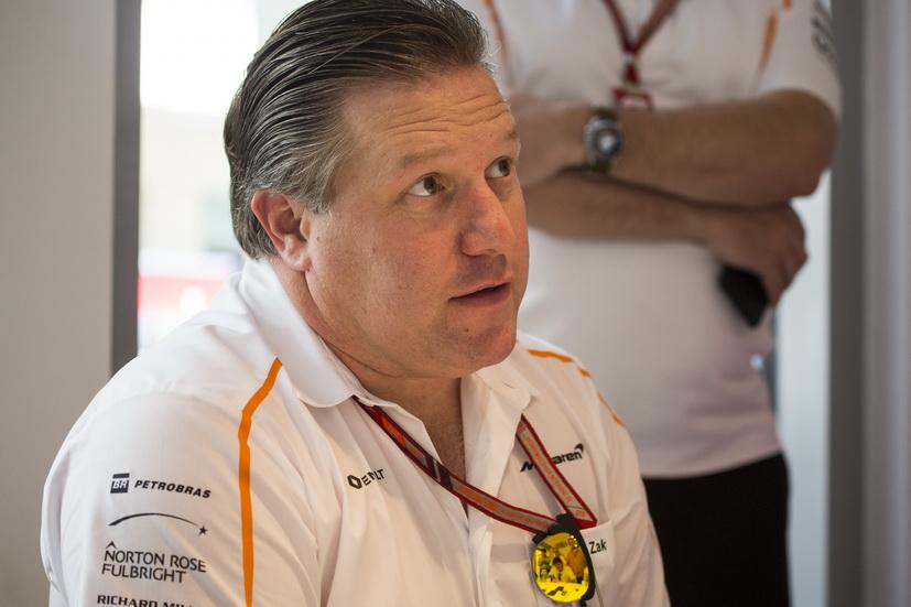 GP de Abu Dabi: Brown dice que Alonso podría probar el McLaren 2019