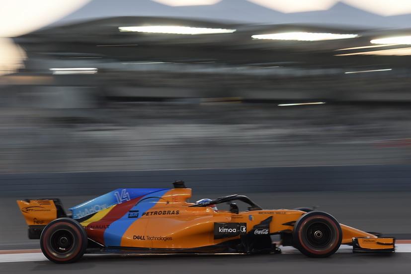 GP de Abu Dabi: última calificación para Fernando Alonso