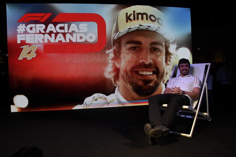 GP de Abu Dabi: homenaje a Fernando Alonso