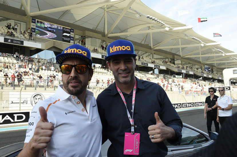 GP de Abu Dabi: Alonso con Jimmie Johnson