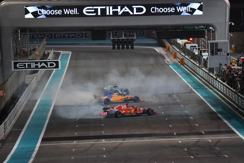 GP de Abu Dabi (carrera): Hamilton, Vettel y Alonso... protagonistas