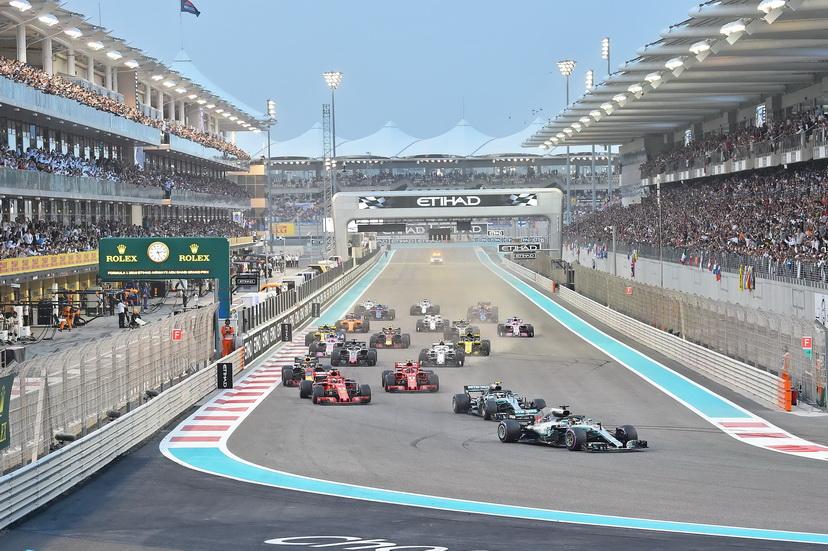 GP de Abu Dabi (carrera): undécima victoria de Hamilton esta temporada