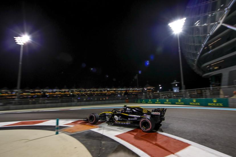 GP de Abu Dabi: Sainz se despide de Renault a lo grande