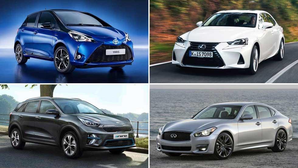 Todos los coches híbridos del mercado: guía de compra