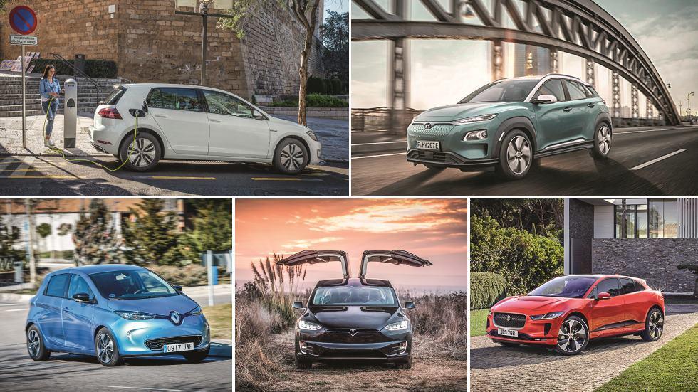 Todos los coches eléctricos del mercado: guía de compra