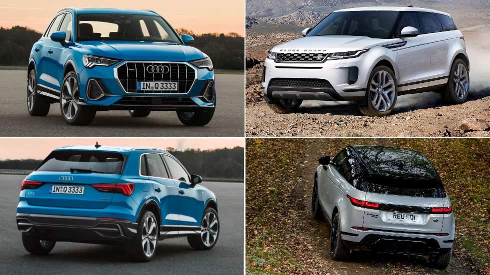 Audi Q3 vs Range Rover Evoque 2019: el duelo de nuevos SUV que viene