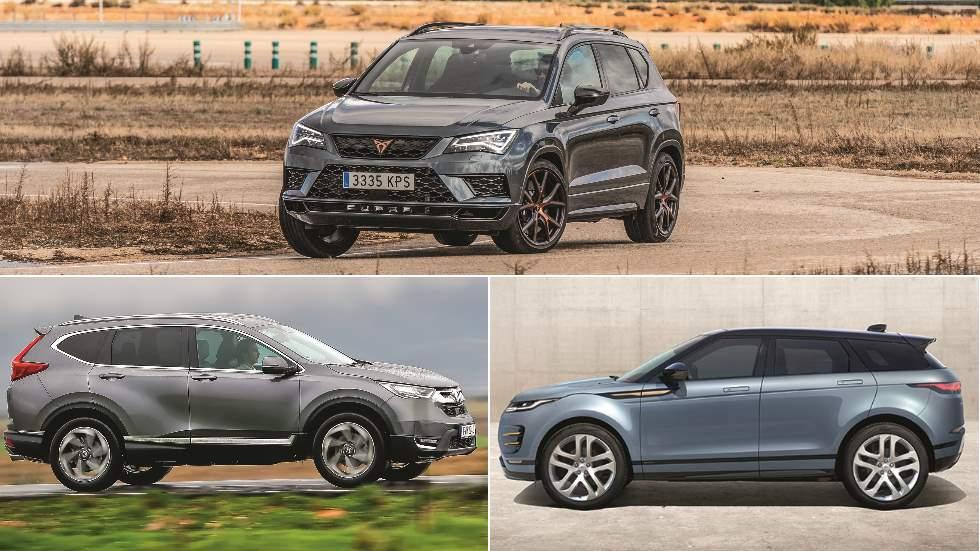 Revista Autopista 3078: Honda CR-V, Cupra Ateca y Range Rover Evoque, tres SUV con carácter