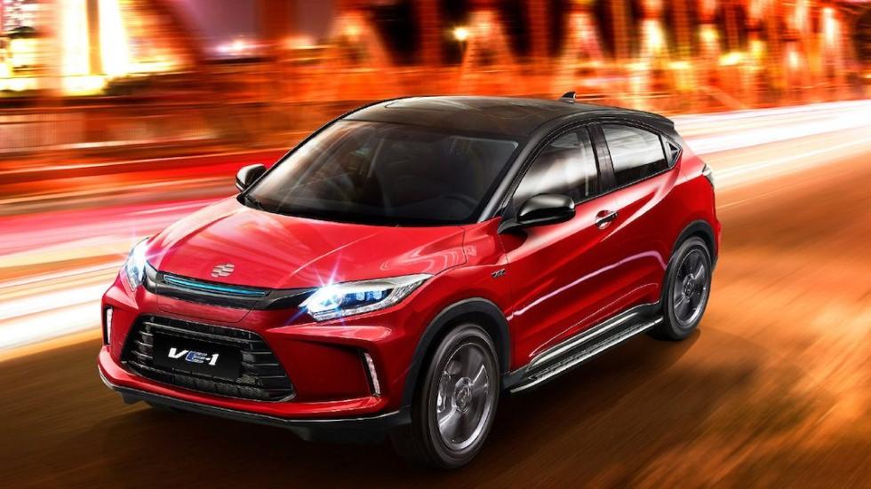 Honda Everus VE-1: nuevo SUV coupé eléctrico, con la base del HR-V