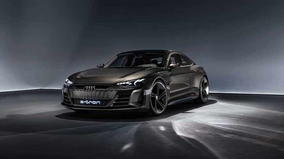 Audi e-tron GT Concept, la electricidad llega a los deportivos de Audi