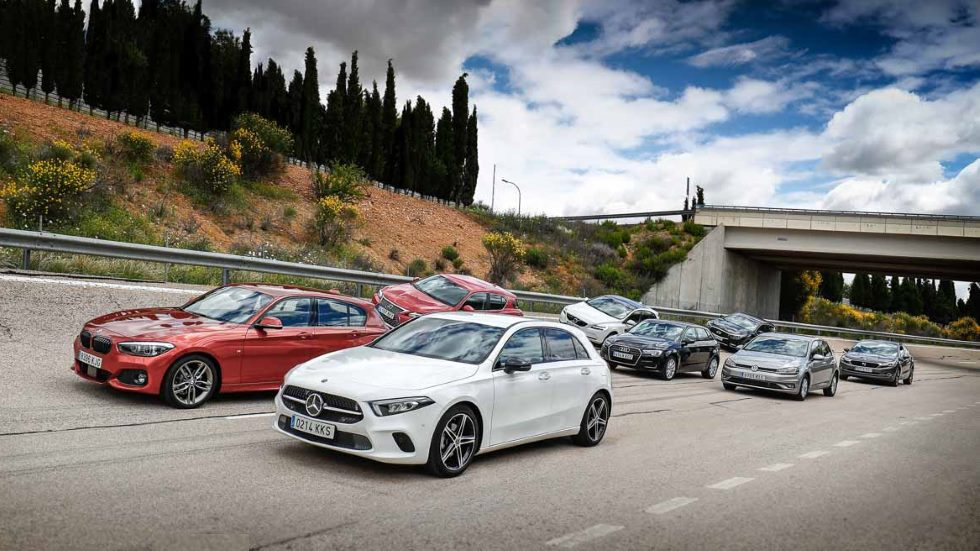 Elegimos al mejor compacto premium: A3, Serie 1, Clase A, Golf, Q30, CT, V40 y DS 4