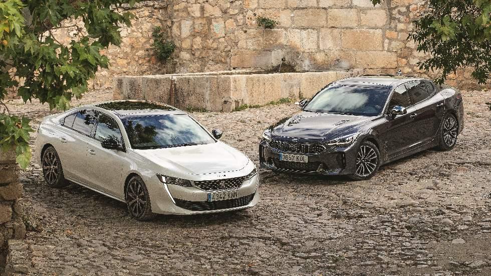 Comparativa Diesel: Peugeot 508 vs Kia Stinger, ¿cuál es mejor?