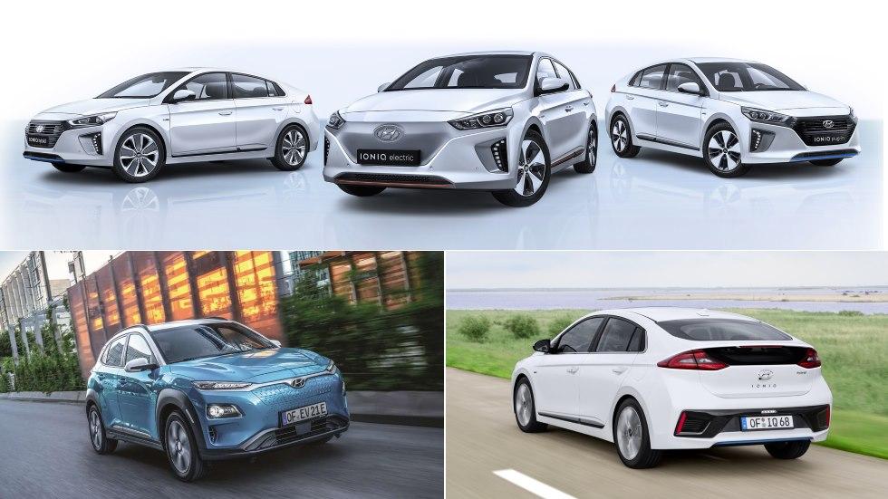 La gama ECO de Hyundai: coches y SUV híbridos y eléctricos