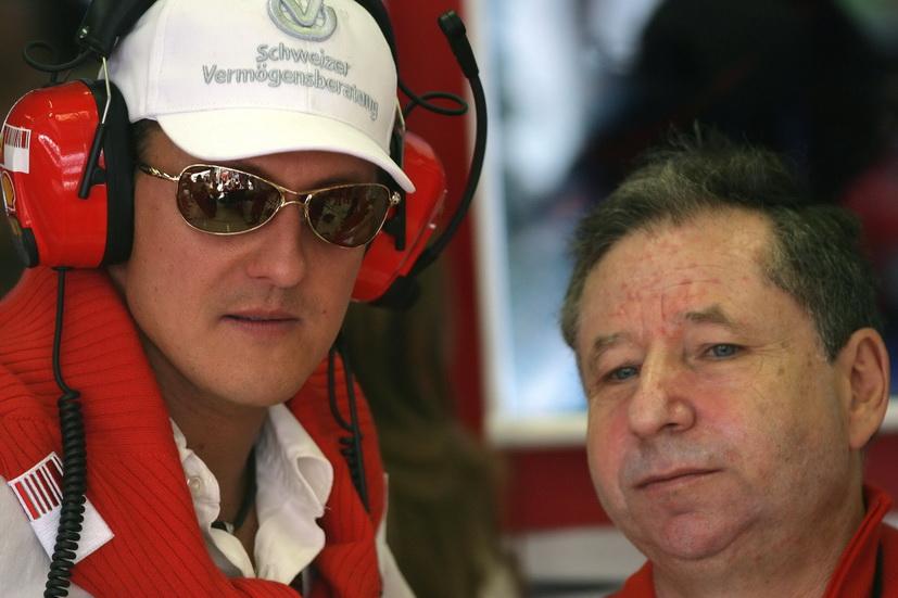 """Todt reconoce que vio """"el GP de Brasil junto a Schumacher"""""""