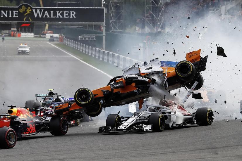 El halo impidió que Leclerc sufriera daños en la cabeza