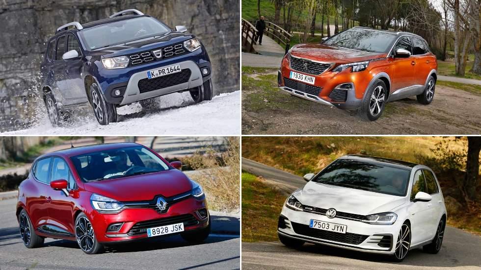 Los 50 coches y SUV más vendidos en Europa en lo que va de 2018