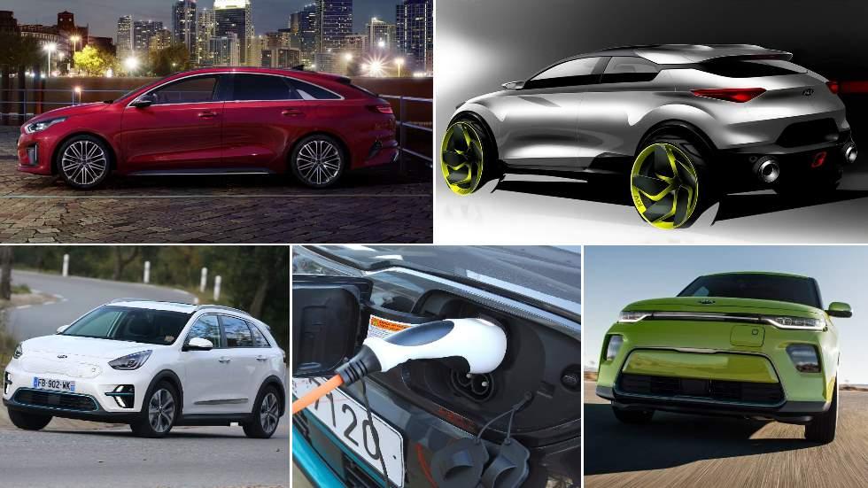 Las novedades de Kia hasta 2025: Ceed SUV, cuatro eléctricos, uno de hidrógeno…
