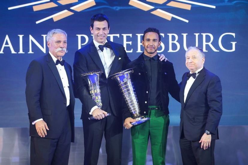 Ceremonia de entrega de premios de la FIA
