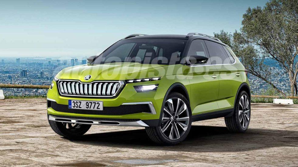 Skoda Kamiq 2019: el nuevo SUV que llegará en septiembre