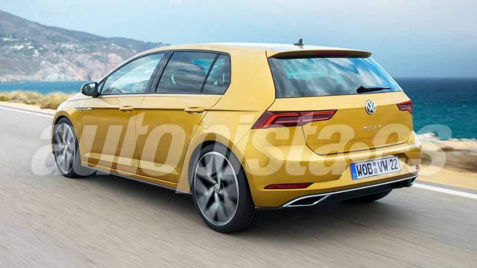 Volkswagen Golf 2019: la nueva generación Mk8, ¿cazada ya en vídeo?