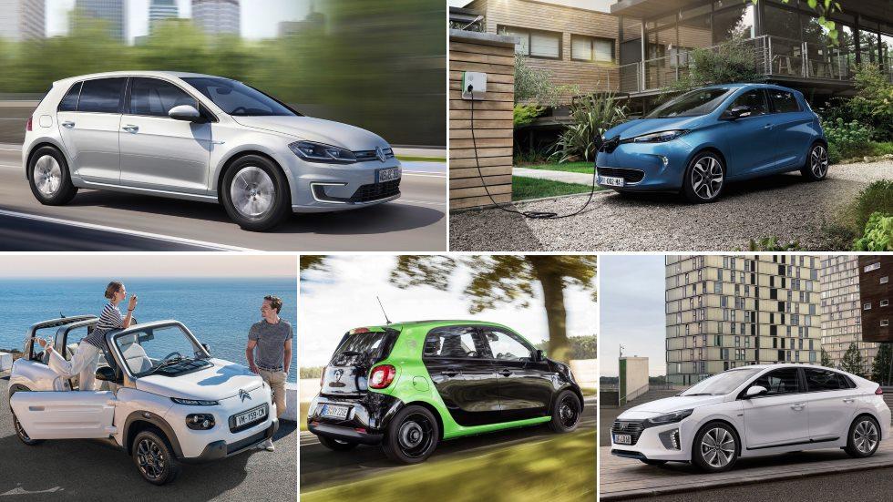 Los 10 coches eléctricos más baratos del mercado: del Smart al VW e-Golf