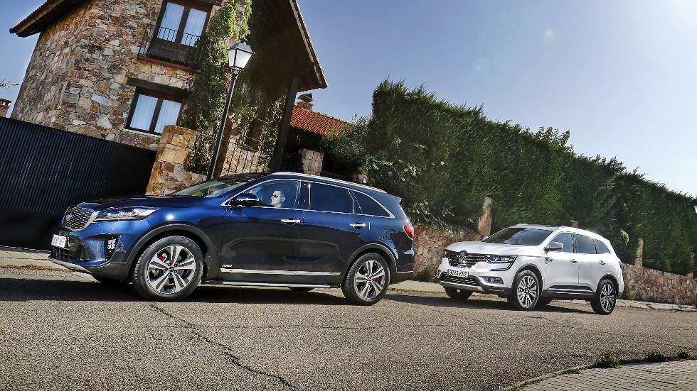 Kia Sorento CRDi vs Renault Koleos dCi: ¿qué SUV Diesel es mejor?