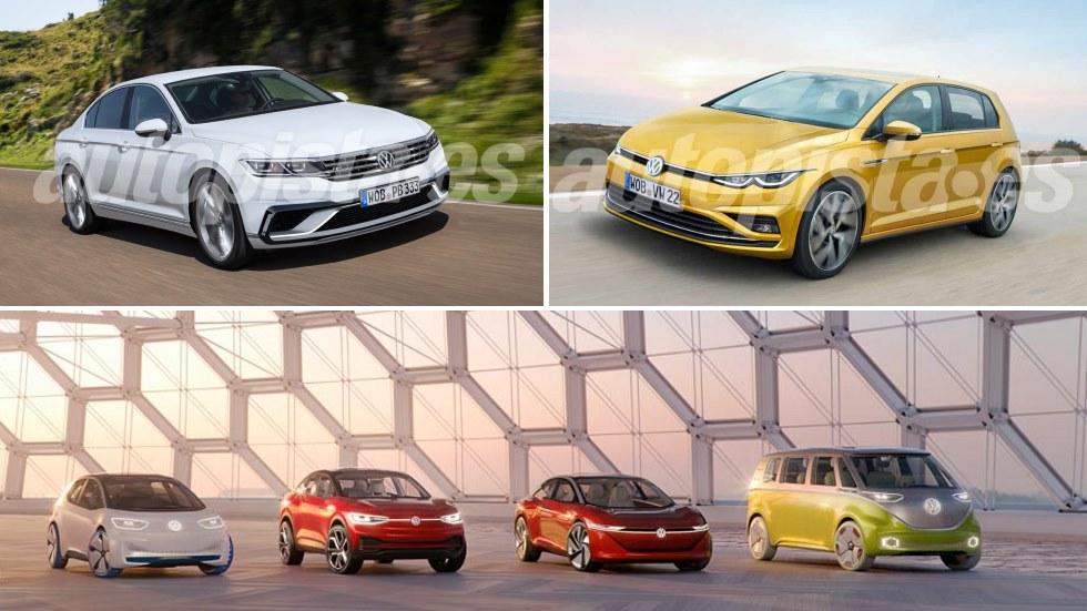 Todos los nuevos Volkswagen que llegan hasta 2022: Golf, Passat, T-Cross, ID…