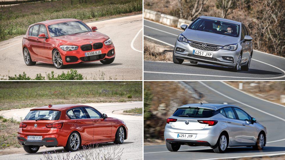 BMW 116i vs 116d y Opel Astra Turbo vs CDTi: ¿Diesel o gasolina? ¿Premium o generalista?