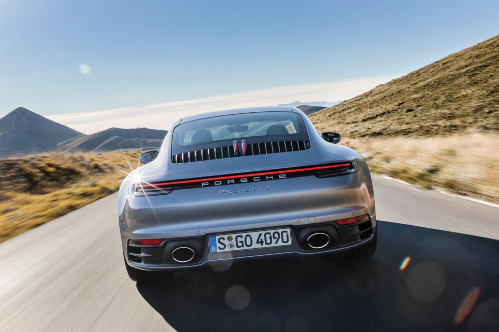 Porsche 911 992: toda la técnica de la octava generación