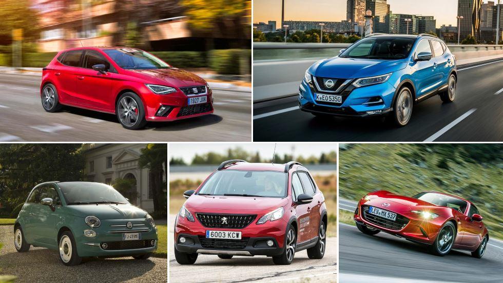 Los coches más vendidos del año en España en cada categoría