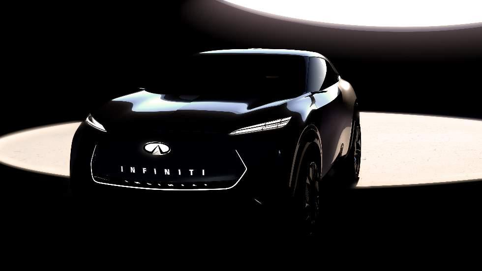 Infiniti presentará un nuevo SUV eléctrico en el Salón de Detroit 2019