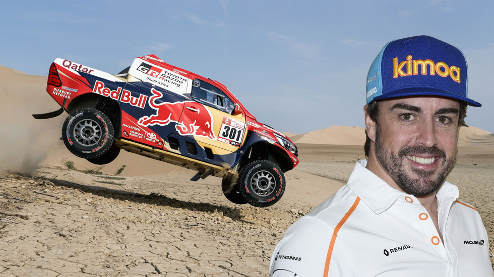 ¿Y si Fernando Alonso corriese el Rally Dakar en 2020?