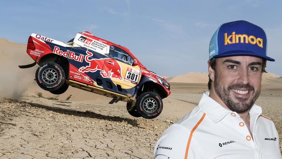 ¿Y si Fernando Alonso corriese el Rally Dakar en 2020?