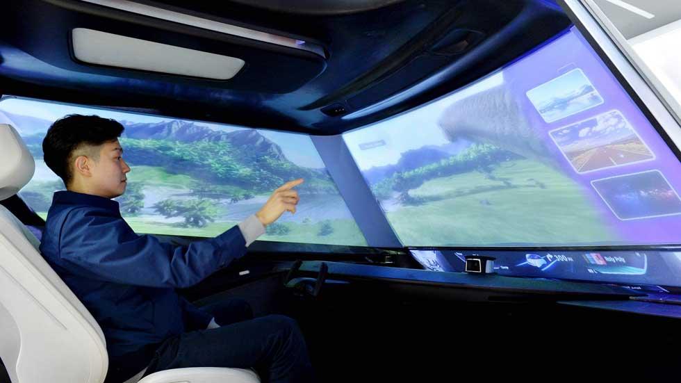 Así podría ser el parabrisas de los coches en un futuro no muy lejano