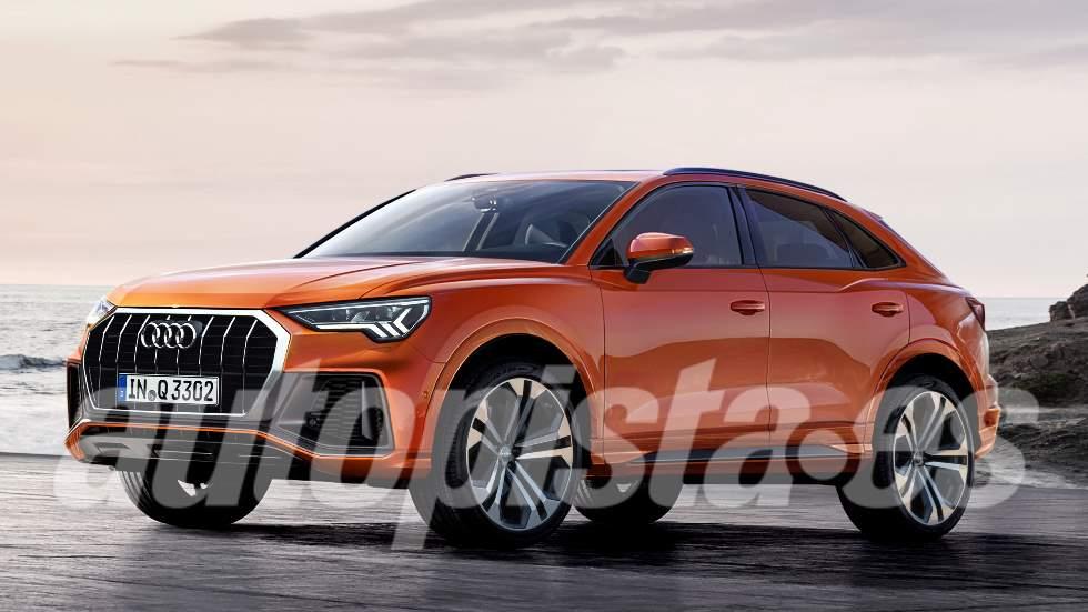¿Audi Q4 o Q3 Sportback? El nuevo SUV coupé toma forma