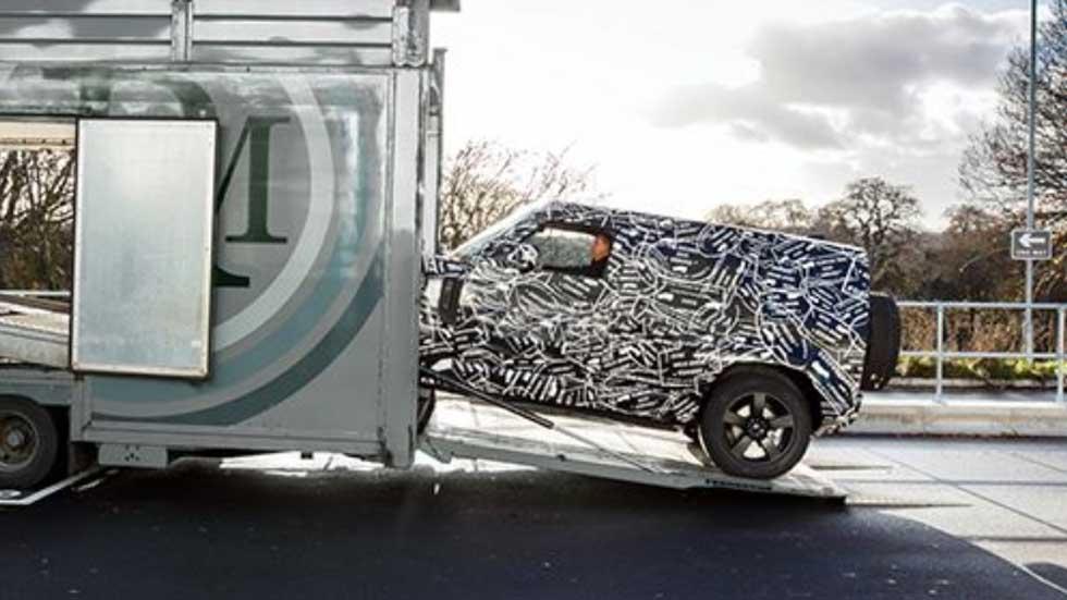 Land Rover Defender 2020: primera imagen del nuevo y genuino 4x4